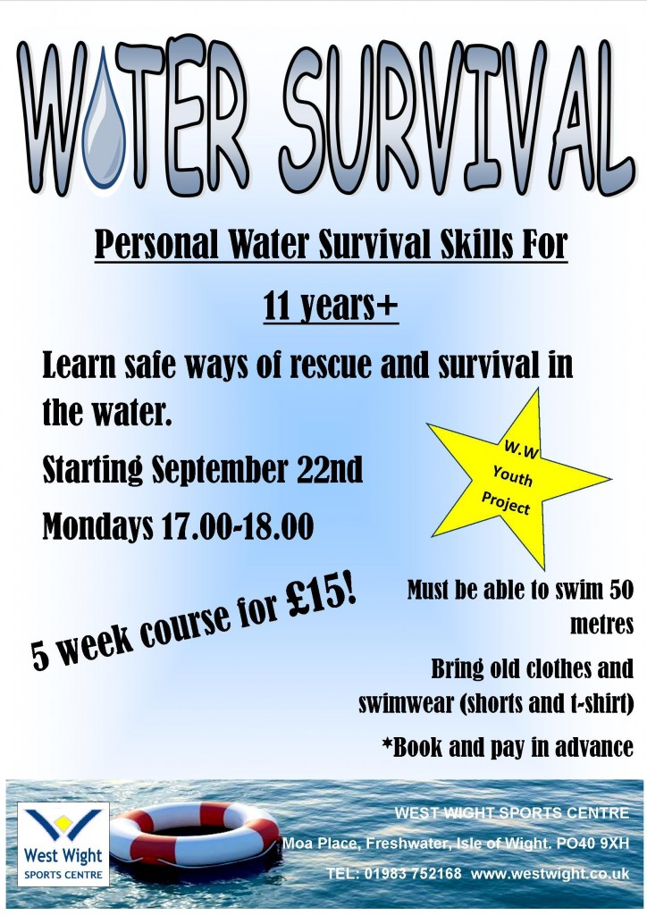 water survival sept 14