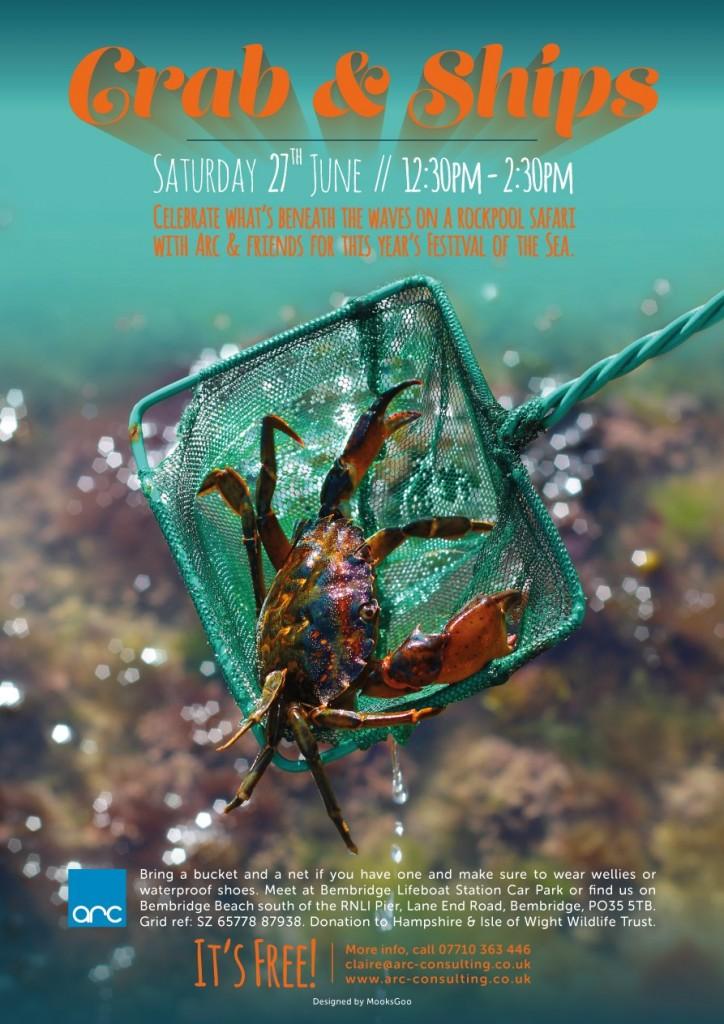 Crab & Ships poster