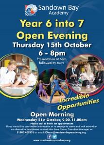 Sandown Bay Academy Open Evening (2)