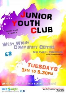 Junior Youth Club Oct 2015