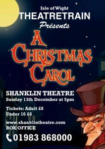 A Christmas Carol A4 Poster