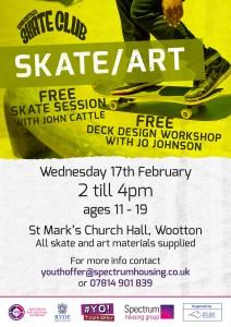 Skate and art February 2016