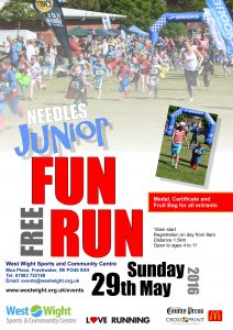 Needles Junior Fun Run Poster 2016