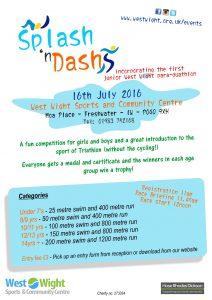 Splash and Dash Poster 2016