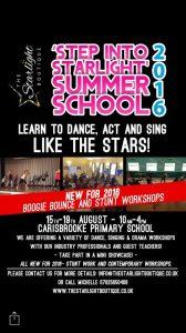 summer school poster 2016